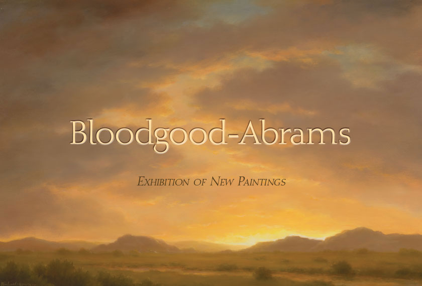 Bloodgood Abrams painting exhibition