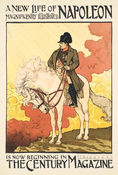 Eugene Grasset lithograph A NEW LIFE OF NAPOLEON