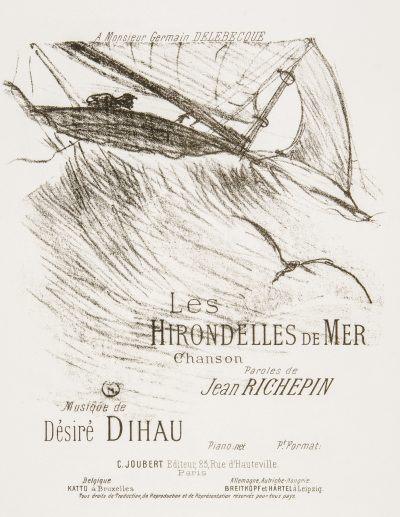 Henri de Toulouse-Lautrec LES HIRONDELLES DE MER