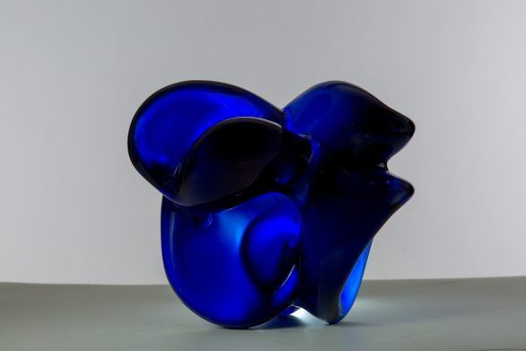 Laura Leal Crystal Sculpture Untitled XVI