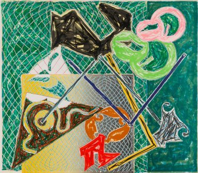Frank Stella Shards V