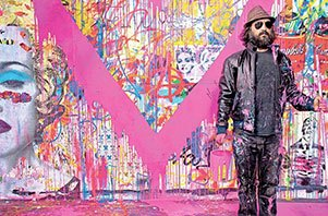 Mr. Brainwash sf gallery