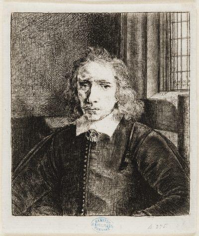 Rembrandt etching & drypoint PIETER HARRINGH