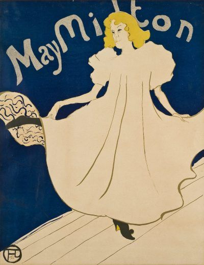 Toulouse-Lautrec Lithograph: May Milton