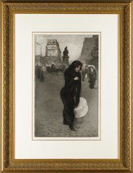 Robbe Etching: Femme Fatale