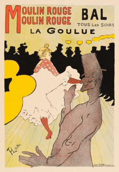 Toulouse-Lautrec Lithograph: LA GOULUE - MOULIN ROUGE