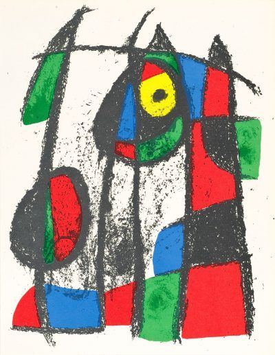 UNTITLED from Joan Miró Lithographes II