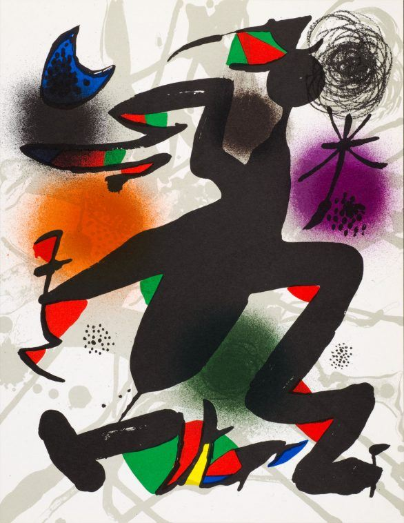 UNTITLED from Joan Miró Lithographes III