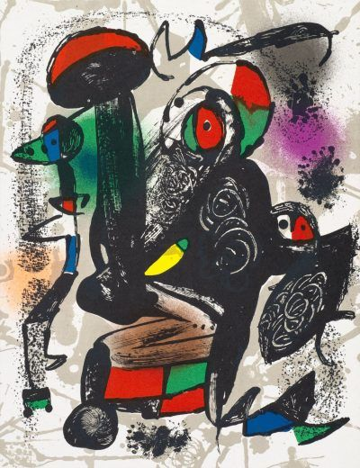 UNTITLED from Joan Miró Lithographes IV