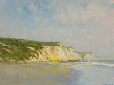 John MacDonald Painting Point Reyes Onshore Breeze