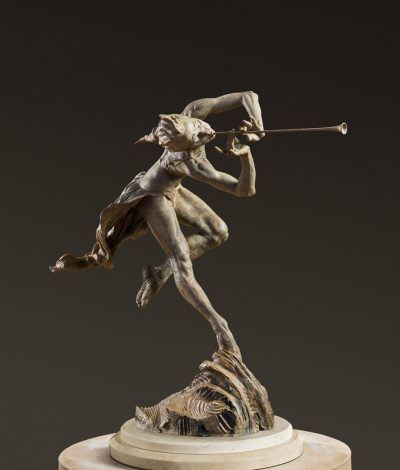 Richard MacDonald The Trumpeter, Draped, 1/3